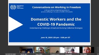 Domestic work and COVID-19: Addressing challenges and building collective strategies