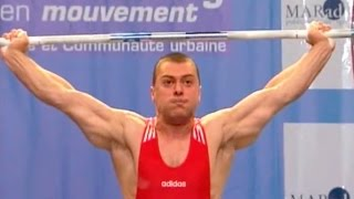 2007 European Weightlifting Championships, Men 77 kg  Тяжелая Атлетика. Чемпионат Европы(, 2012-02-21T19:03:56.000Z)