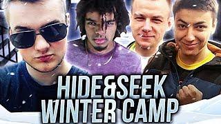 WINTER CAMP HIDE AND SEEK!