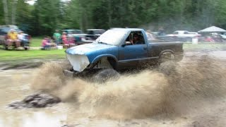 Little Blue 4x4 Mudding At Geneva Road Mud Bog