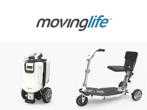 Scooter plegable moving life ortopedia 41 youtube for Aparatos para hacer ejercicio