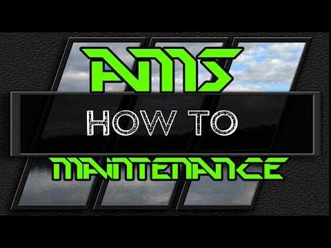 How To : AMS Reel Maintenance