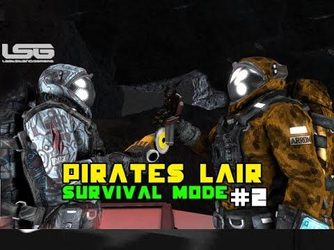 Space Engineers - The Pirates Lair, Ship Boneyard SE3 - Part 2