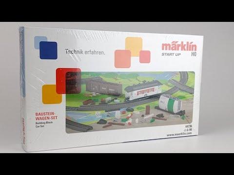 Märklin Baustein-Wagen-Set 44736: Live Unboxing!