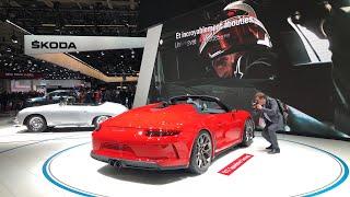 Mondial de l'Auto 2018 | Le Stand PORSCHE [911 Speedster / 911 GT1 etc...]