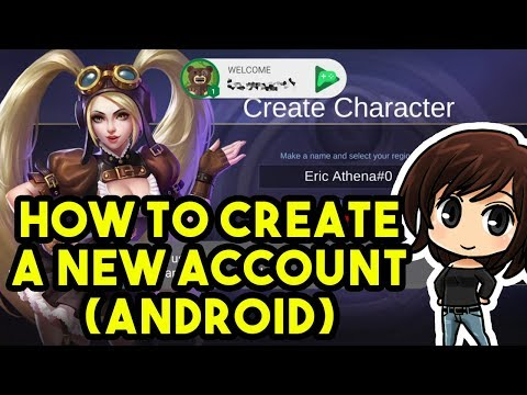 How To Create A New Account On Android - Mobile Legends: Bang Bang