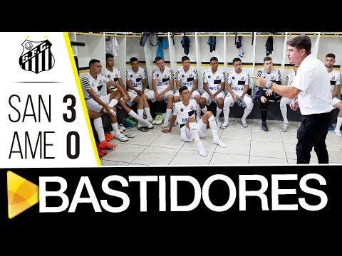 Santos 3 x 0 América-RN | BASTIDORES | Copa SP (02/01/18)
