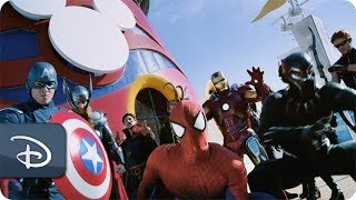 Memories of Marvel Day at Sea With Disney Cruise Line