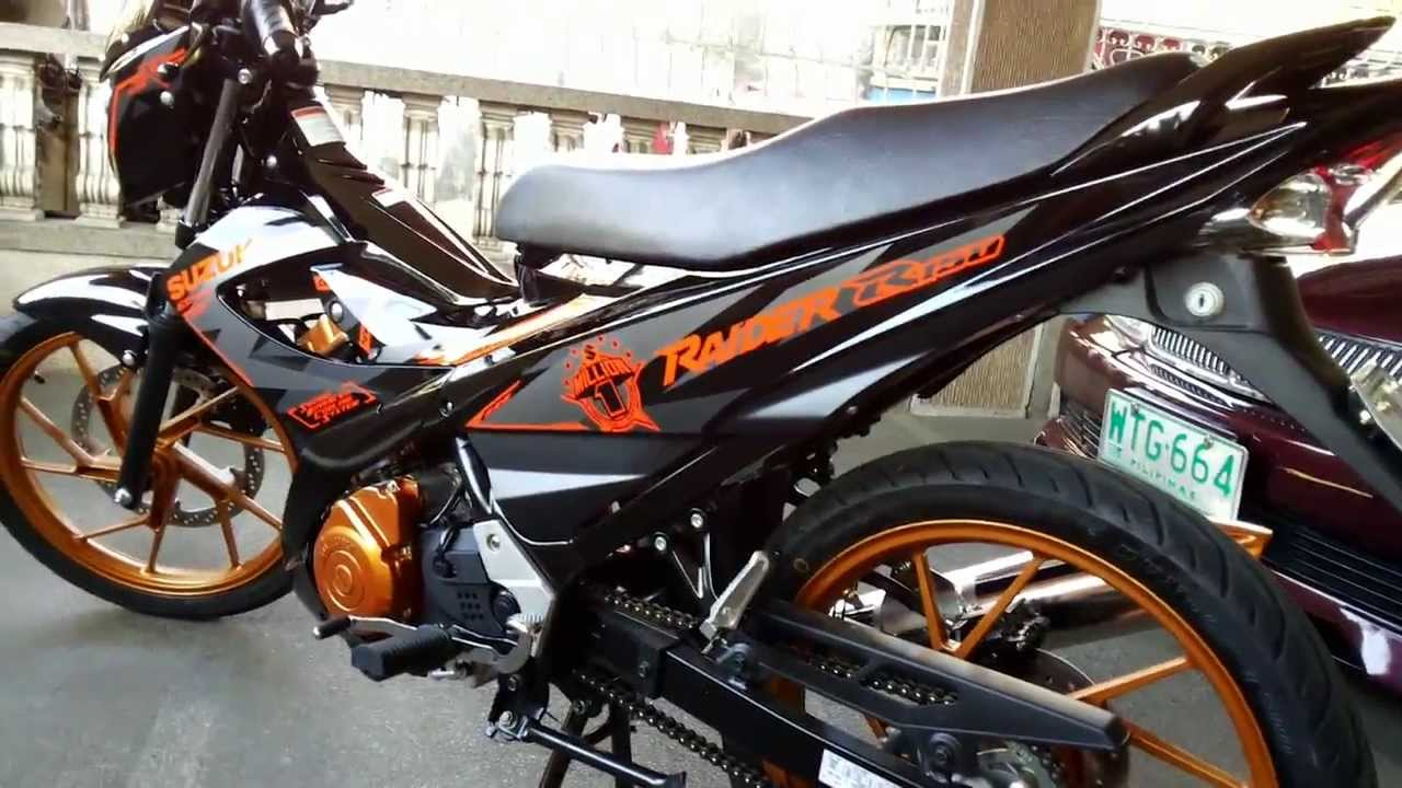 SUZUKI RAIDER R 150 2014 LIMITED EDITION