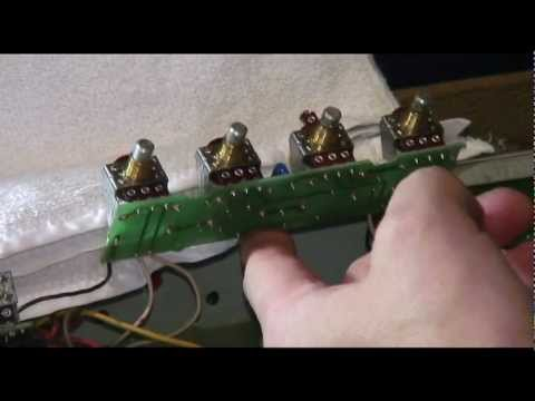 Fender Guitar Amps Vibroverb ~ Cleaning Dirty Pots