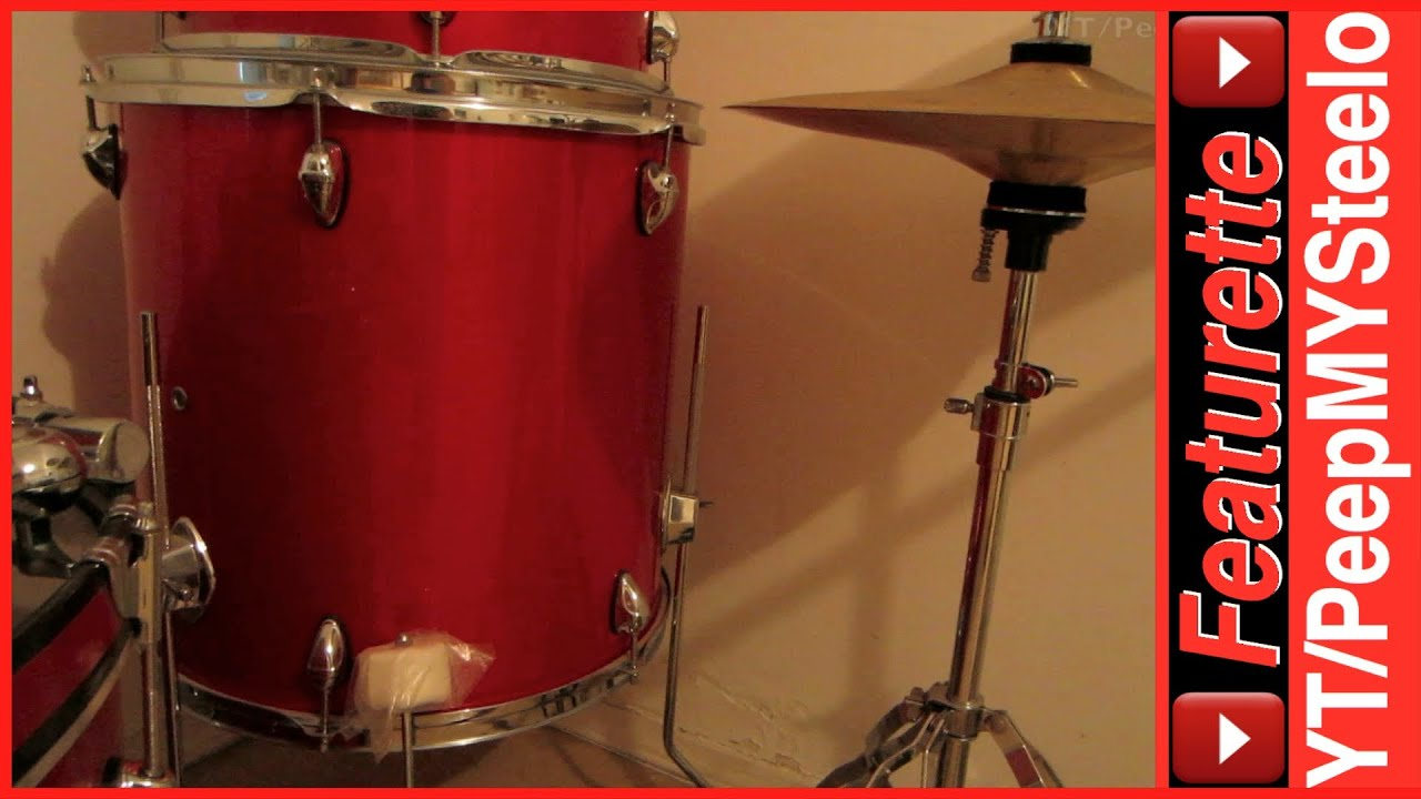 Orbitone Drum Set Kit For Sale Beginners Or Junior Kids W Bass Snare To Toms Cymbals
