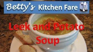 Betty's leek & potato soup