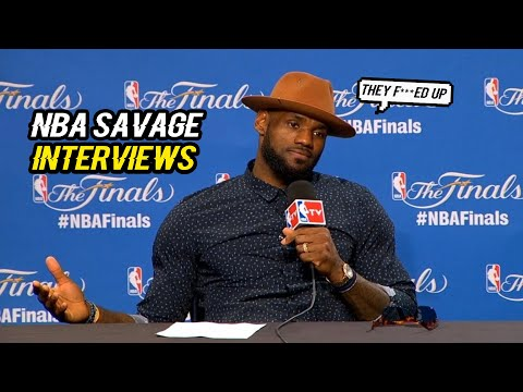 Thumbnail: SAVAGE LEVEL 100% NBA INTERVIEWS EDITION 2017