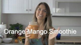 Delicious Orange Mango Smoothie Recipe