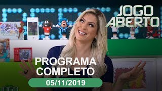 Jogo Aberto - 05/11/2019 - Programa completo