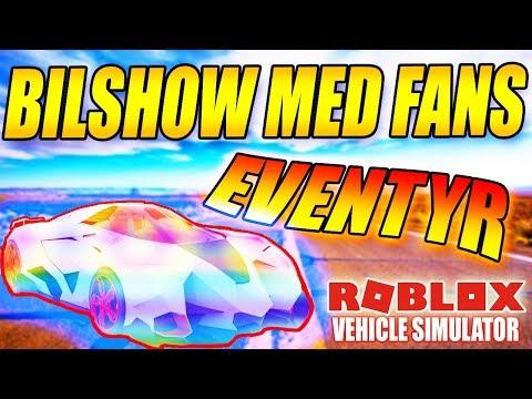 BILSHOW OG EVENTYR MED FANS - VEHICLE SIMULATOR - DANSK ROBLOX - [#24]