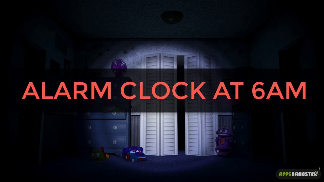 Five Nights At Freddy's 4 - Alarm Clock At 6AM Sound - YouTube