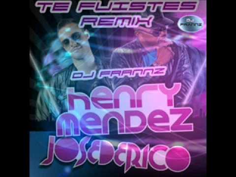 Te Fuistes Jose de Rico y Henry Mendez Remix