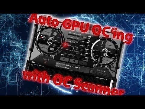 Afterburner's OC Scanner for easy GPU Overclocking!