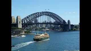 Sydney et sa baie...(Australie)