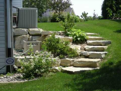 Garden Steps Design Ideas for Home - YouTube