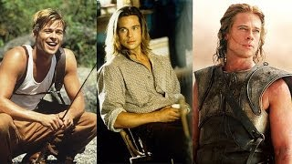 Brad Pitt's 50 Sexiest Moments in 50 Seconds | POPSUGAR Rush