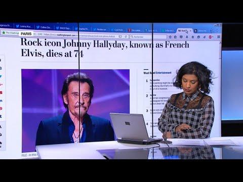 A myth, a legend, an icon: 'French Elvis' Johnny Hallyday
