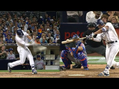 NYM@SD: Renfroe slugs two homers vs. Mets