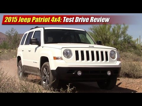 2015 Jeep Patriot 4x4 Test Drive Review