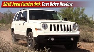 2015 Jeep Patriot 4x4 Test Drive Review(We test the 2015 Jeep Patriot 4x4 on and off-road to see why it still sells so strong, even more than the new Renegade. Full review inside and out with specs, ..., 2015-08-20T22:12:56.000Z)