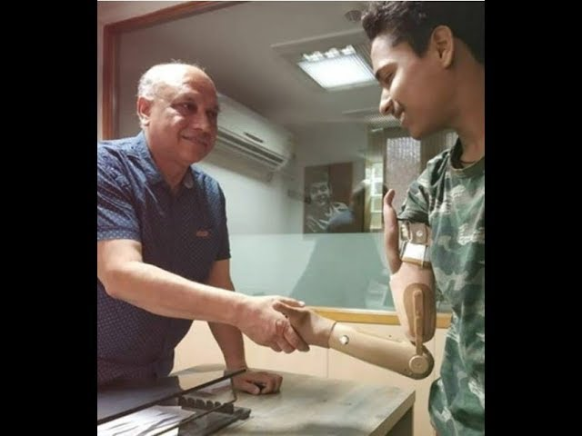 Delhi Student Gets First Electric Prosthetic Arm Under Disability Act