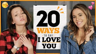20 Ways to Say I Love You with Alexis G. Zall and Ayydubs