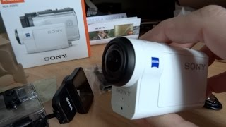 It's the BOSS! Sony Action Cam HDR-AS300 Unbox and Review