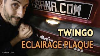 💡 Twingo éclairage plaque d'immatriculation 🔆