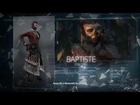 """""""Assassin's Creed: Rogue"""", All Abstergo Database Voiced Interviews and History Events"""