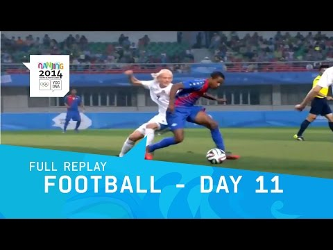Football - Day 11 Cape Verde V Iceland Men's Bronze | Full Replay | Nanjing 2014 Youth Olympic Games