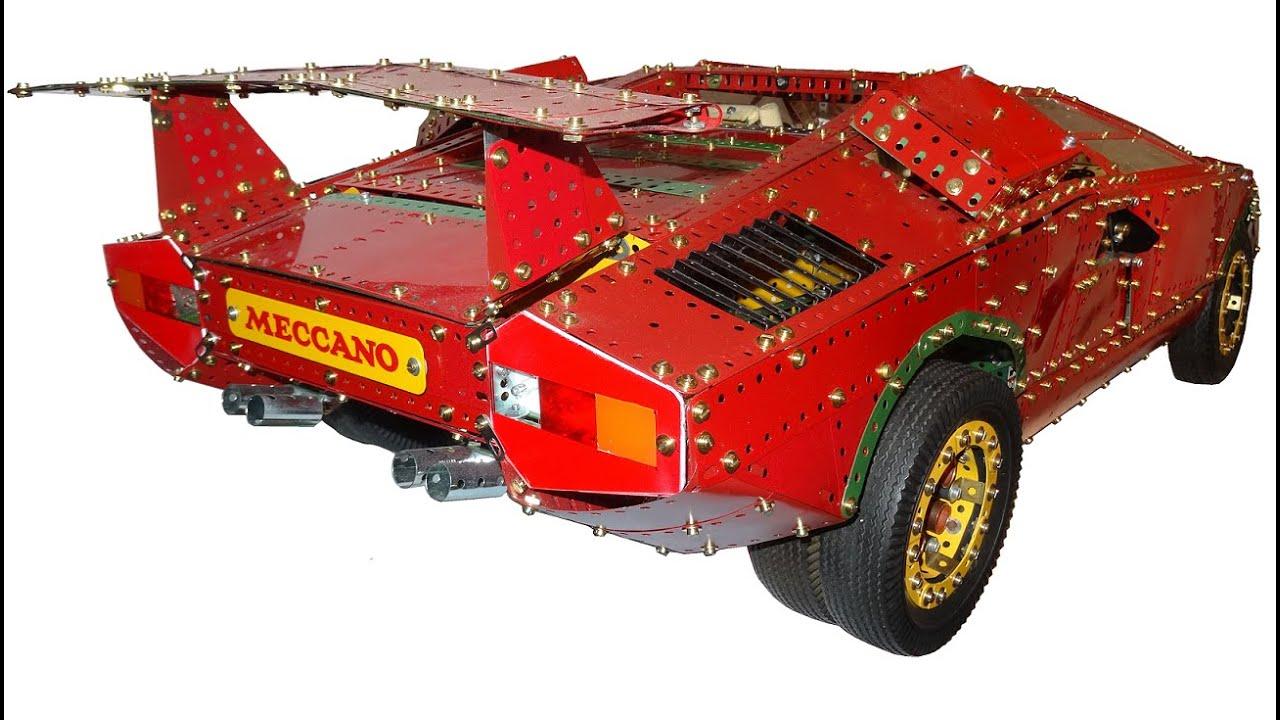 Meccano Lamborghini Countach No Music Youtube