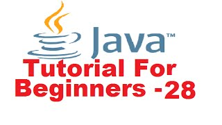 Java Tutorial For Beginners 28 - Abstract Methods and Classes