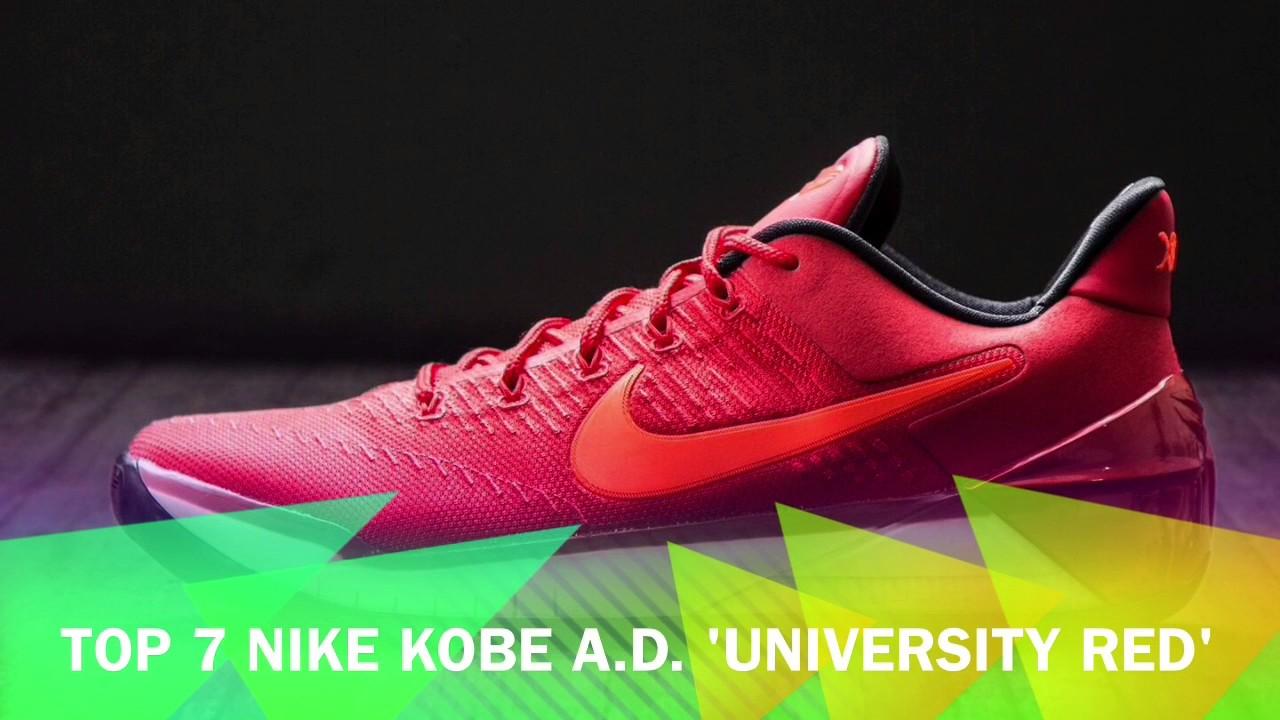 62e262cc9f58 My Top 10 best colorways of Kobe AD - YouTube