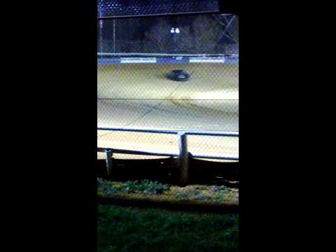 Tyler County Speedway wreck turn 2 and 3