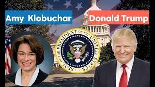 Amy Klobuchar vs Donald Trump | 2020 Election Prediction