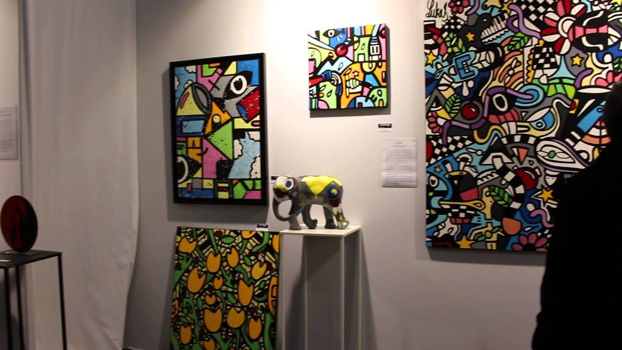 Peintre lukas   art3f 2016   metz   youtube