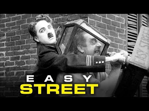 Charlie Chaplin | Easy Street (1917) | Silent Film | Classic Comedy Video