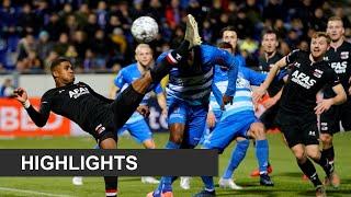 Highlights Pec Zwolle   Az | Eredivisie