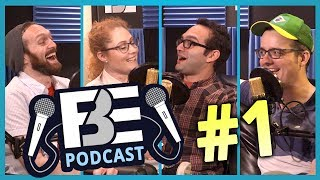 FBE PODCAST #1 | React Auditions? VidCon? Related Cast Members? thumbnail