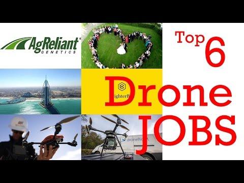 Top 6 Drone Camera Operator Jobs