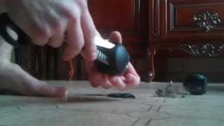 видео Как снять колёсики с офисного кресла и поменять