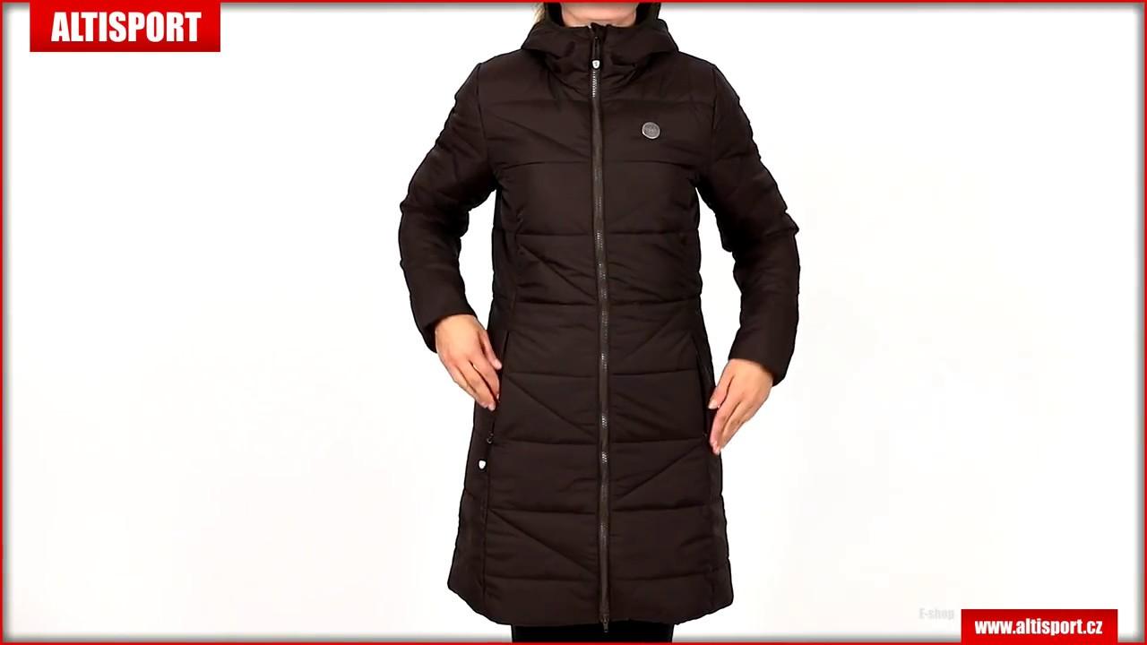 dámský zimní kabát nordblanc tint nbwjl6428 temně hnědá - YouTube 5bf79db15d