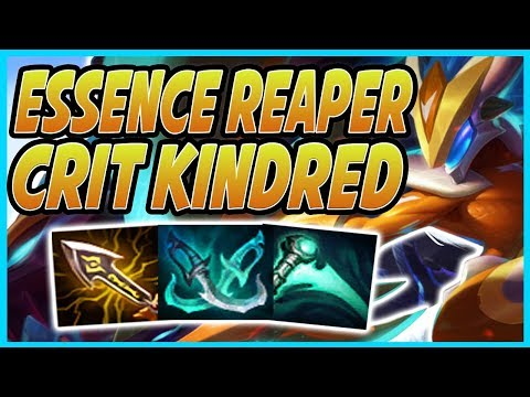 Repeat HOW GOOD IS THIS ESSENCE REAPER KINDRED BUILD?! EXECUTE