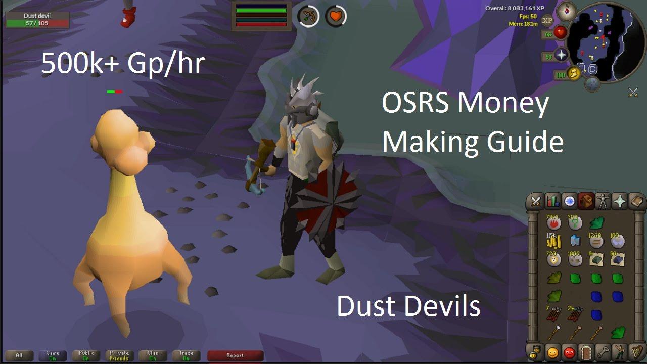 Dust devil guide osrs